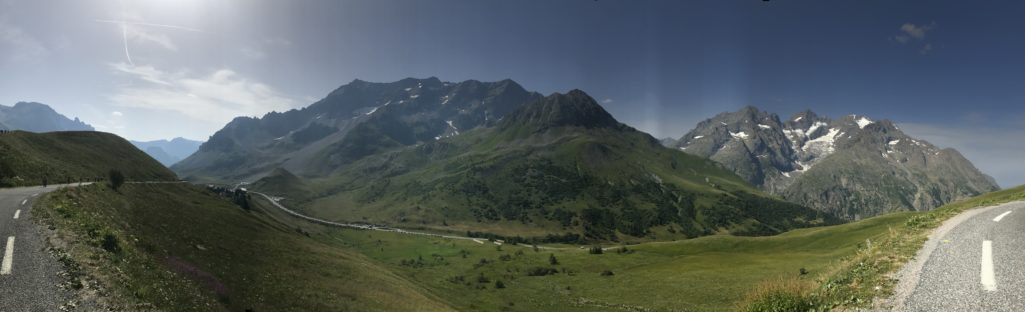 The Galibier and a Great View of the Finish